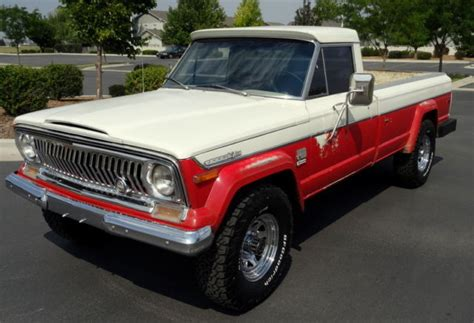 jeep gladiator 1970 1970 jeep j4000 gladiator 4x4 pickup rare all original