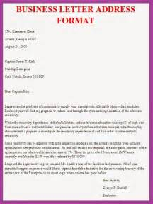 addressing a business letter best business template