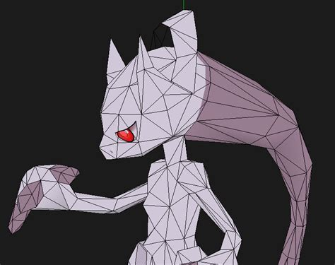 Mewtwo Papercraft - mega mewtwo y papercraft new textures coming soon by