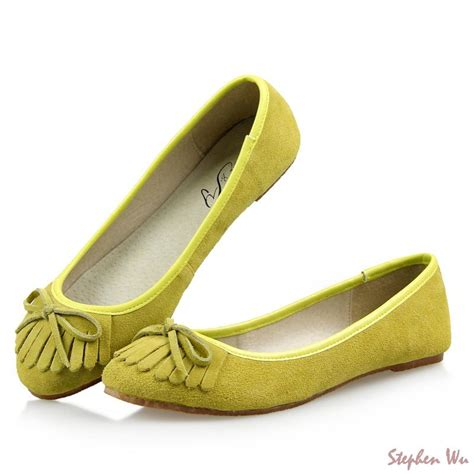 flats womens shoes new 2015 brand designer flats fashion tassels ballet