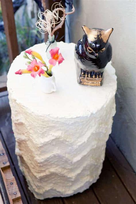 paper mache ideas for home decor how to make a paper mache table for under 20 pretty