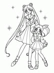 free printable sailor moon coloring pages kids
