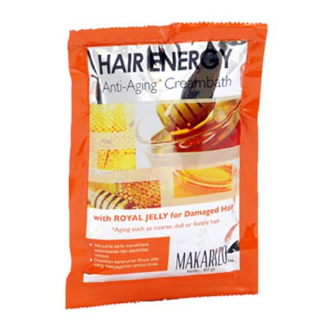 Harga Makarizo Hair Energy Royal Jelly ix carriers