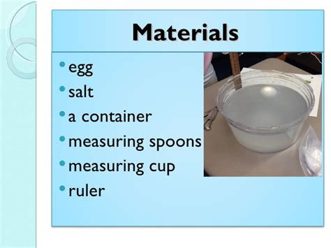 what does a salt l do 35 does salt water sink or float do bad eggs float or
