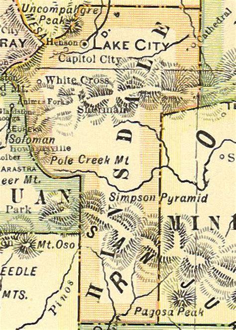 County Colorado Divorce Records Hinsdale County Colorado Genealogy Census Vital Records