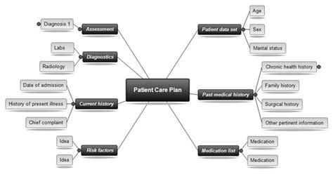 free concept map templates nursing students search