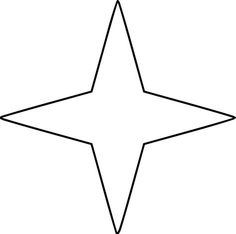 svg point pattern origami star clipart etc 4 pointed star meaning 4 pointed