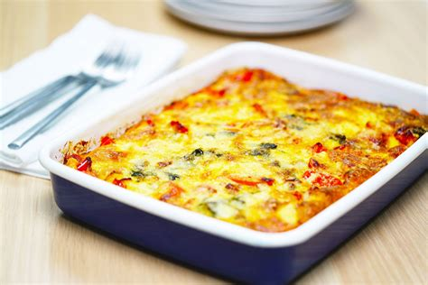 Food Oven Baked oven baked frittata