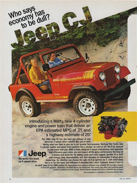Jeep Advert 1980 Jeep Ad 0a