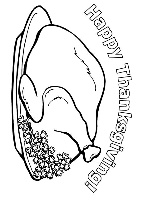 Thanksgiving Coloring Page Happy Thanksgiving Thanksgiving Coloring Pages Pdf