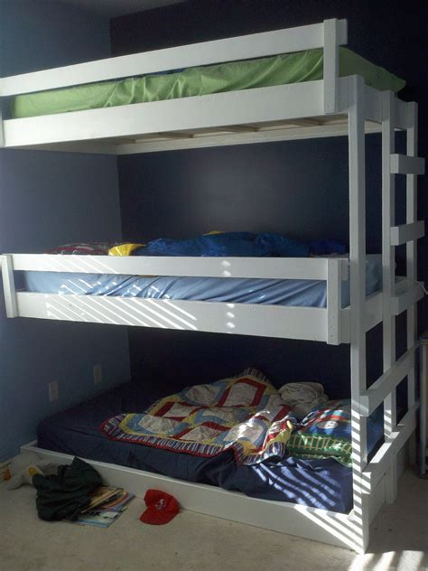 how to build a bunk bed 5 out of the box ideas for 3 bed bunk bed home and