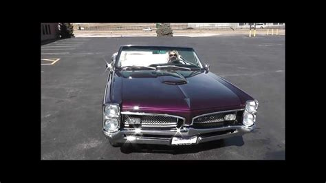 purple convertible 1967 pontiac gto convertible purple