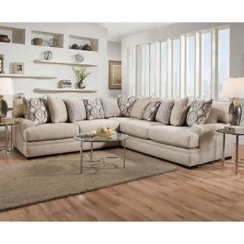 fabric sofas and sectionals fabric sofas sectionals costco
