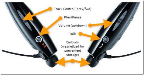 Heatset Bluetooth Lg Tone Plus Wireless Stereo Henset Putih Hitam wireless earphones lg tone wireless bluetooth stereo headset