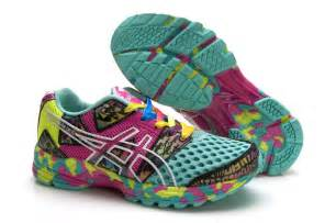 colorful running shoes asics gel noosa tri 8 womens running shoes colorful