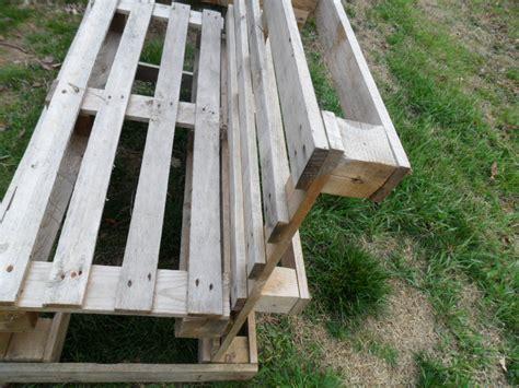panchine di design panchine con bancali di legno pallet design panchina