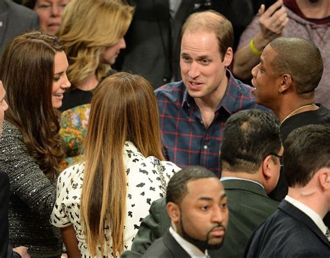 the duchess deal meets duke the duke and duchess of cambridge meet z and beyonce