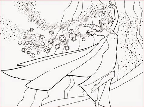 coloring page of elsa from frozen coloring pages elsa from frozen free printable coloring pages
