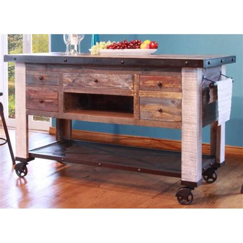 metal kitchen islands antique pine metal kitchen island
