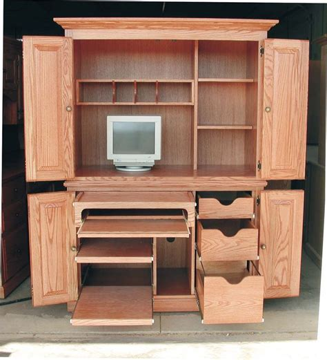 Computer Armoire Desk by 17 Best Ideas About Computer Armoire On Craft