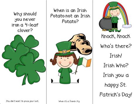 classroom freebies st s day bookmarks