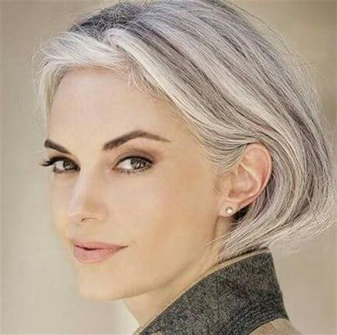 grey hairstyles for younger women young women with grey hair pictures to pin on pinterest
