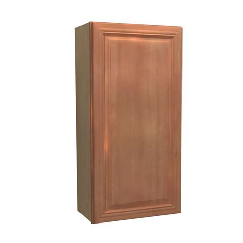 Single Kitchen Cabinet Home Decorators Collection Dartmouth Assembled 15x36x12 In Single Door Hinge Left Wall Kitchen