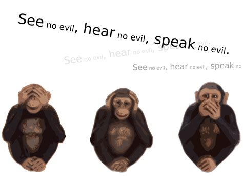 hear no evil speak no evil see no evil tattoo clipart see no evil hear no evil speak no evil