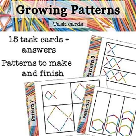 pattern rule for 8 12 24 1000 images about patterns on pinterest kindergarten