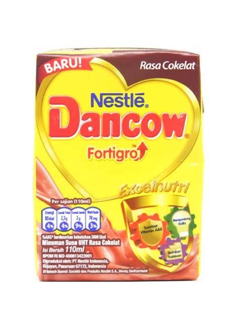 Dancow Cair 110ml Dancow Cair Uht Fortigro Coklat Tpk 110ml Klikindomaret