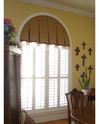 Arched Window Treatments Ideas Interesting Solution For Arched Window Windows Valances And Corn