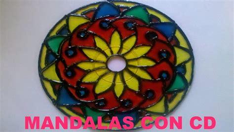 Como Se Realizan Las Mandalas Con Cd | tutorial c 243 mo hacer mandalas con cd youtube