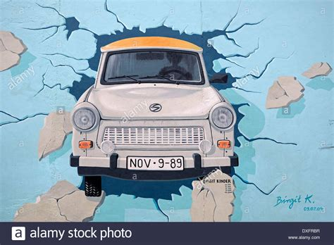 testi the wall test the rest trabant breaking through the berlin wall by