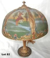 antique lamps & lights for sale at online auction | buy
