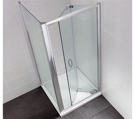 Shower Doors 900mm April Identiti2 900mm Bifold Shower Door Ap9452s