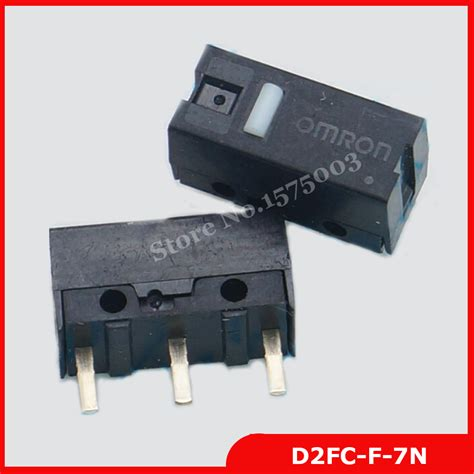 Micro Switch Mouse D2fc F 7n Saklar Tombol Klik Omron Ar21 free shipping 4pcs authentic omron mouse micro switch d2fc f 7n mouse button fretting d2fc in