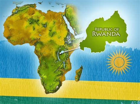 africa map rwanda rwanda map africa