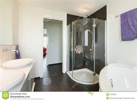casa moderna interno casa moderna interna bagno immagine stock immagine di