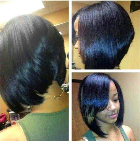 bob sew in hairstyle sew in asymmetrical bob short hairstyle 2013