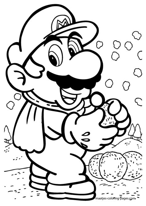Mario Coloring Pages Free Free Printable Mario Coloring Pages For Kids by Mario Coloring Pages Free