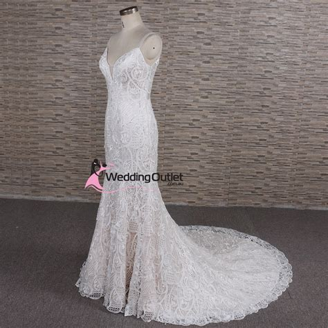 wedding dresses au autumn vintage lace chagne wedding dress