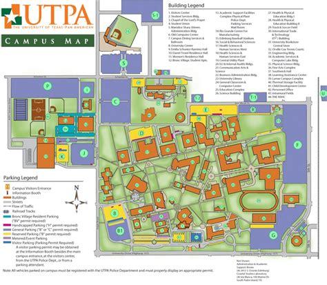 utpa map naccs tejas 2013 parking helpful information