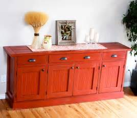 Unfinished Buffet Cabinet Ana White Planked Wood Sideboard Diy Projects