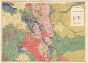 colorado geological map general geological map of colorado barry