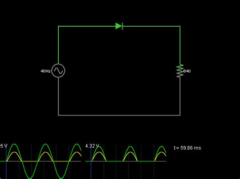 rectifier circuit lab half wave rectifier circuit simulator