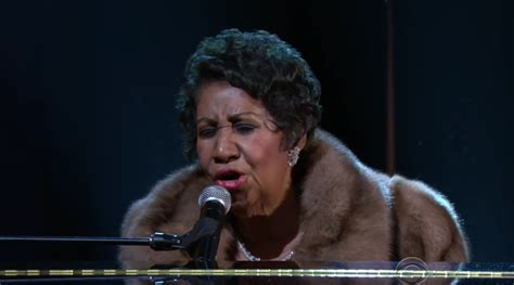 Larger Than Aretha Franklin Is Still A Big Big by Aretha Franklin Obama To Tears With Quot A