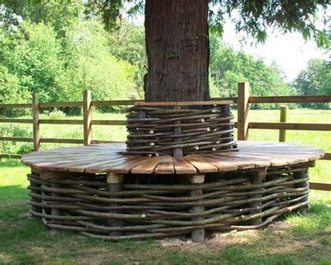 bench seat around tree bench around a tree the owner builder network
