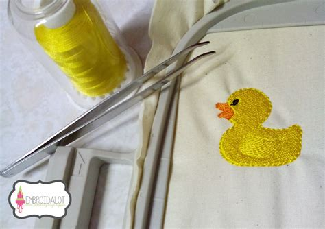 how to create a rubber st bath time machine embroidery design rubber duck