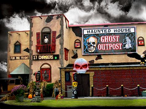 haunted house wisconsin dells ghost out post haunted house