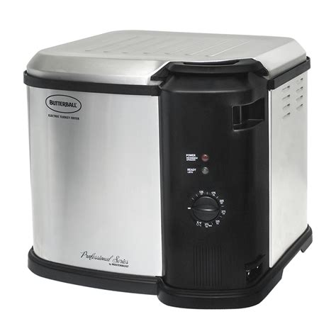 shop butterball 8 quart electric turkey fryer at lowes com